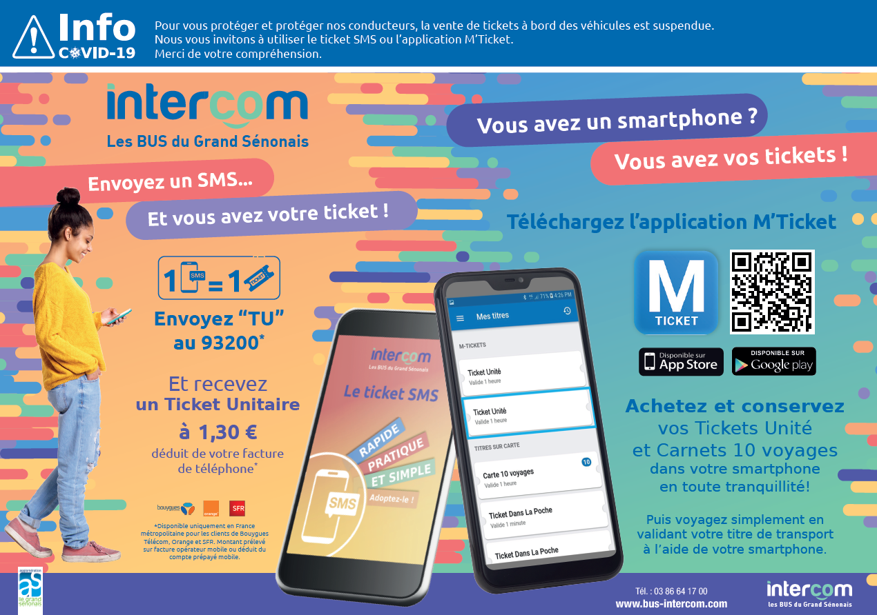 M'Ticket et Ticket SMS